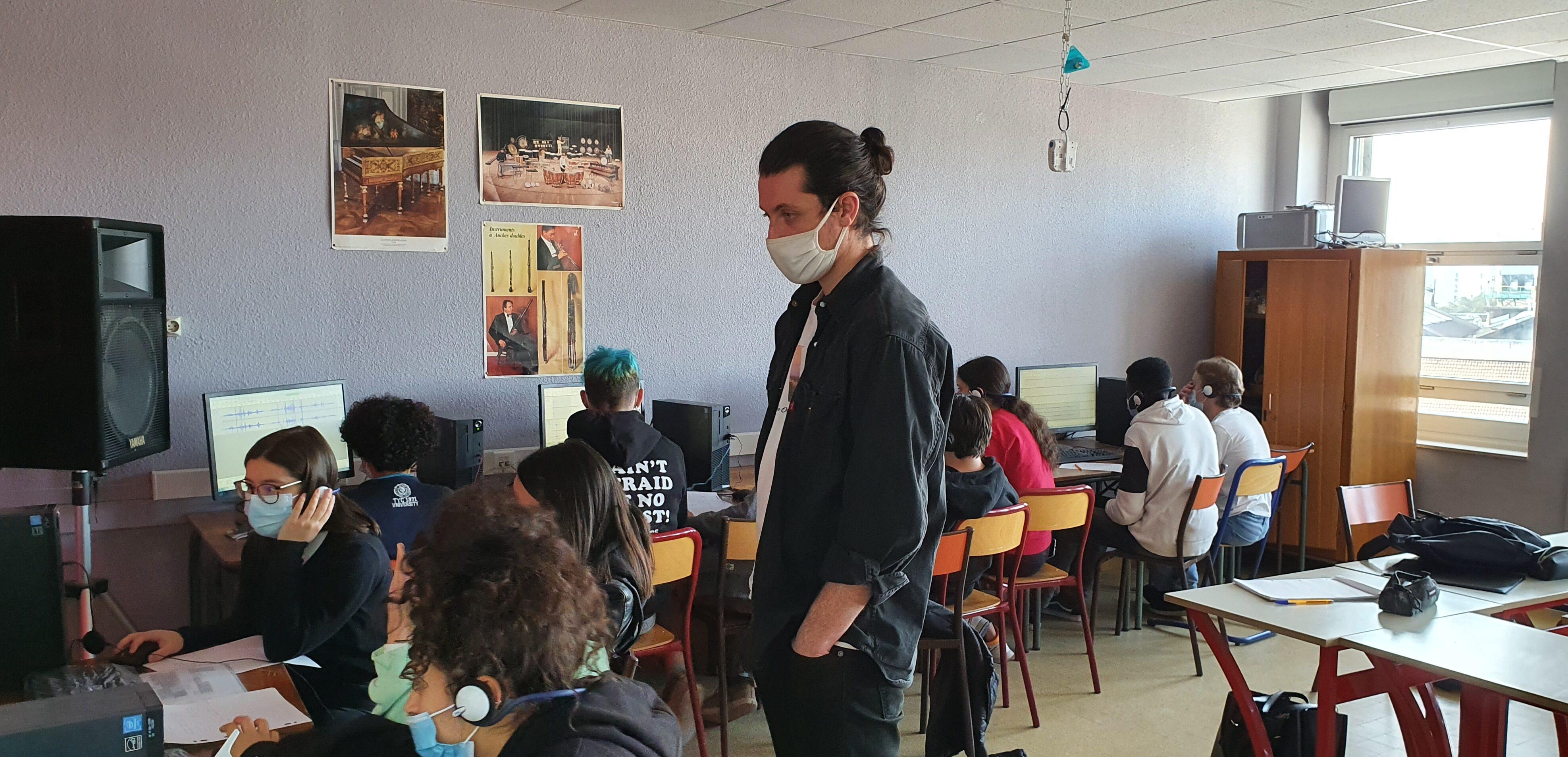Lycée Lumière musique seconde option projet Région
