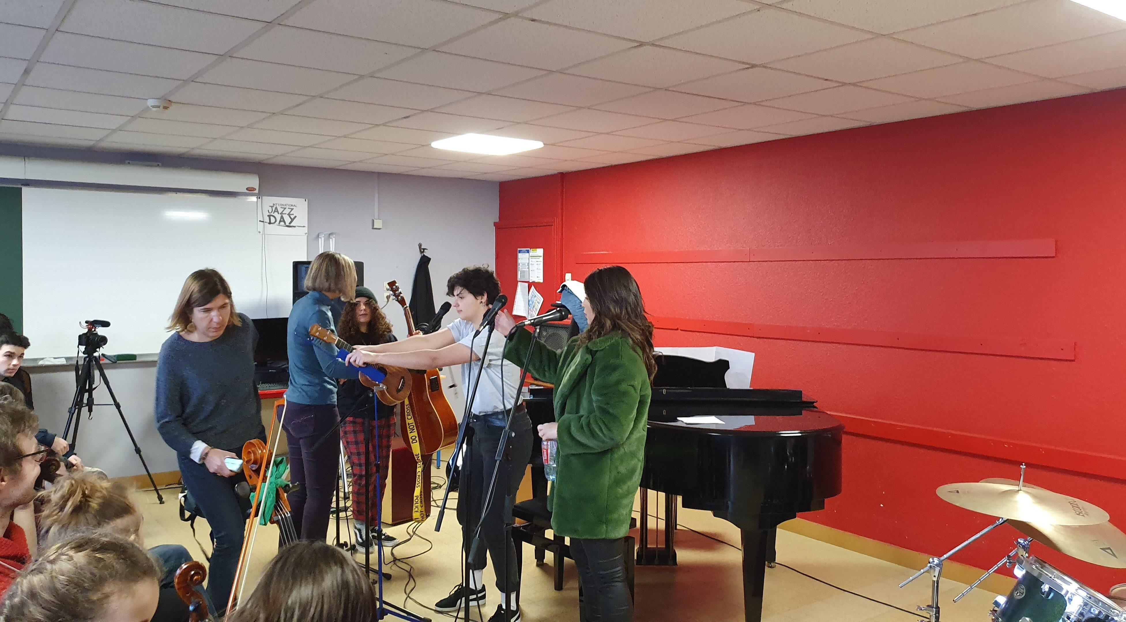Lycée Lumière photo Jean-Luc Hyvoz spécialité musique