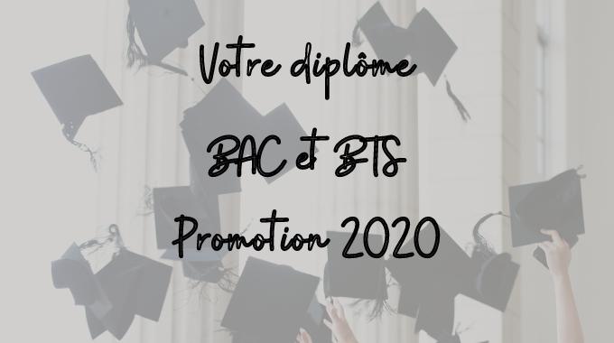 diplômes BAC/BTS 2020